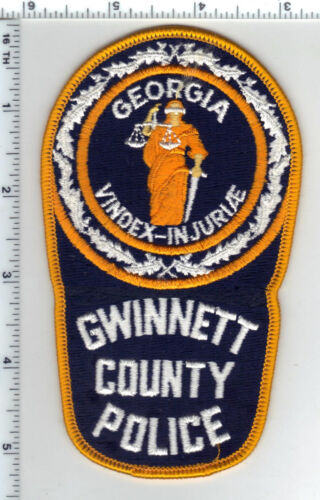 Gwinnett County Police (Georgia) Shoulder Patch