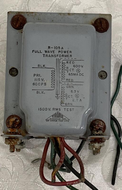 Triad R-105A Full Wave Power Transformer