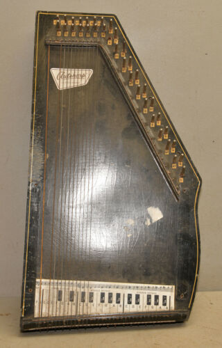 Oscar Schmidt Autoharp 18 string musical instrument collectible parts repair lot