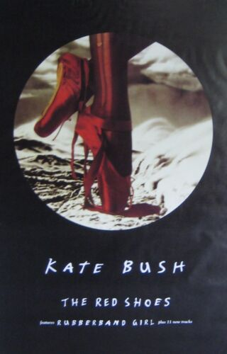 "40x60"" HUGE SUBWAY POSTER~Kate Bush 1993 The Red Shoes Rubberband Girl Album NOS"