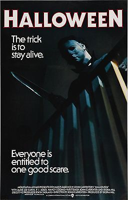 HALLOWEEN (1978) Movie Poster Horror Michael Myers