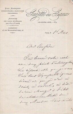 ✒ L.A.S Alfred GERMOND de LAVIGNE journaliste traducteur à Arthur MANGIN
