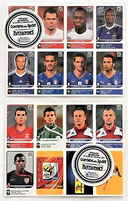 Panini World Cup 2010 South Africa - sealed set of 80 update stickers NEW