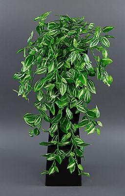 Melonenblatt-Ranke / Tradescantia-Ranke 52cm AD Kunstpflanzen Kunstblumen
