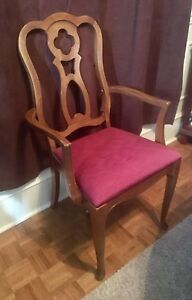 Single French Provincial Captains Chair