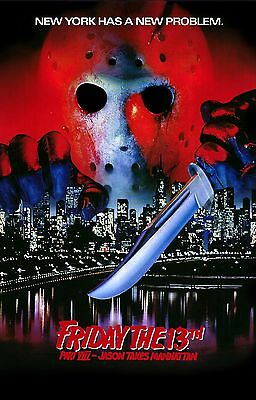 FRIDAY THE 13TH PART VIII 8 Jason Takes Manhattan Movie Poster