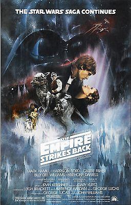 STAR WARS THE EMPIRE STRIKES BACK Episode V 5 Movie Poster Return Jedi