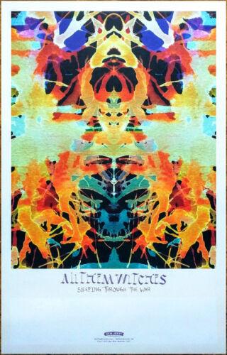 ALL THEM WITCHES Sleeping Through War Ltd Ed RARE Tour Poster +BONUS Rock Poster