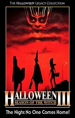 HALLOWEEN III 3 Season of the Witch Movie Poster Horror ](Halloween Movies 3 Witches)