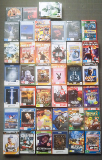 39 assorted PC games