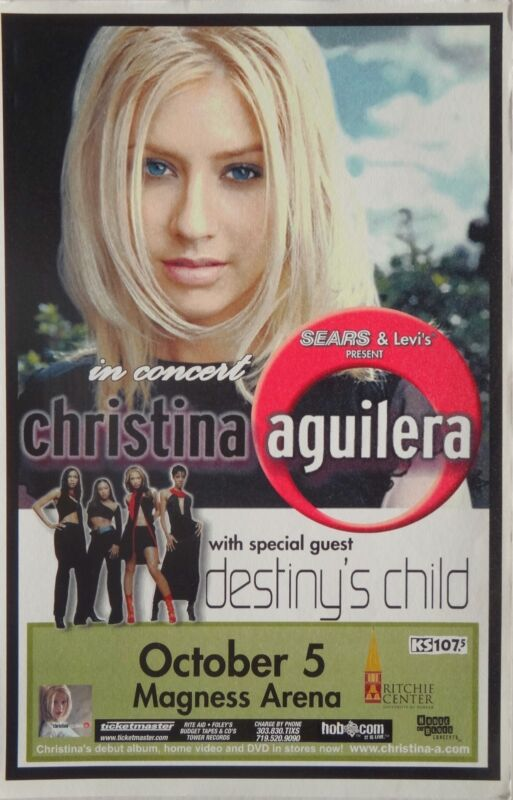 CHRISTINA AGUILERA / DESTINY
