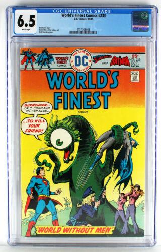 Worlds Finest #233 CGC 6.5 WP
