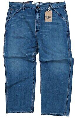 Levi's Carpenter Work Wear Denim Blue Jeans Relaxed Straight Leg #4109 Carpenter Denim Blue Jeans