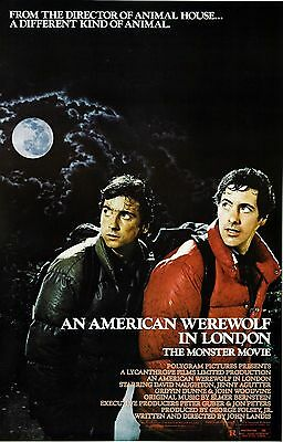 An American Werewolf In London Movie Poster Horror