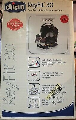 Chicco KeyFit 30 Infant Car Seat - Juneberry - Brand New In Box - Free Shipping!