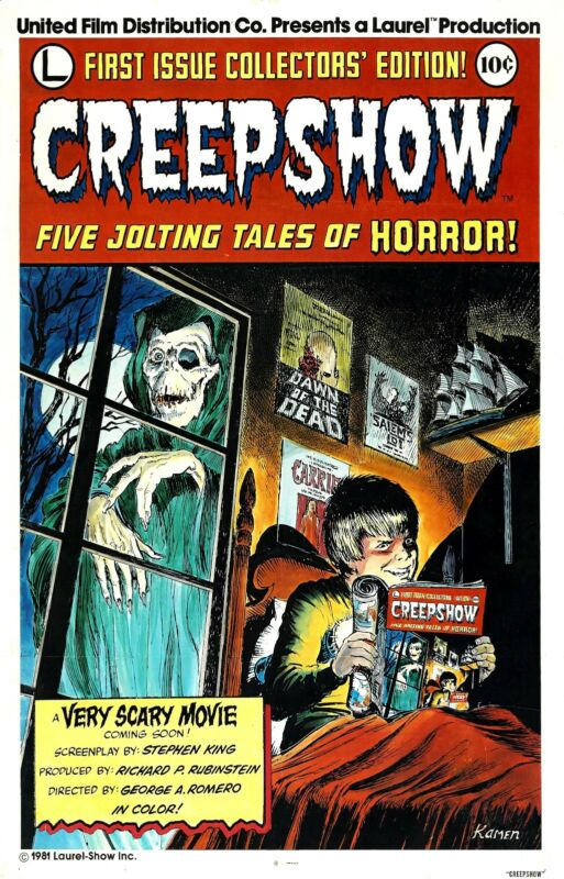 CREEPSHOW Movie Poster (1982) Horror