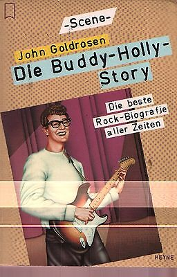 MUSIK BUCH Die Buddy-Holly-Story die beste Rock Biographie Heyne SCENE Verlag