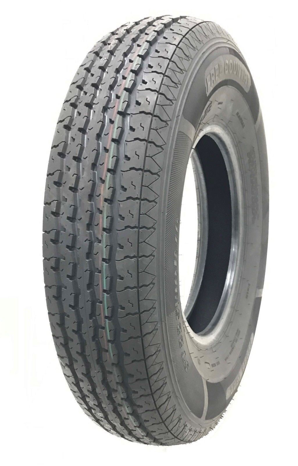 New Free Coutntry Trailer Radial Tires ST205 90R15 10PR Load Range E - 11081