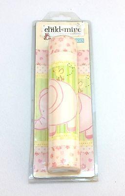 NEW Decorative Girl Wallpaper Border Pink Elephant Giraffe Heart 5 Yds Carters