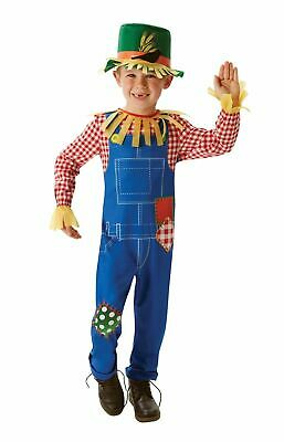 KIDS BOYS MR. SCARECROW WIZARD OF OZ FANCY DRESS BOOK WEEK SIZE 7-15 YEARS (Scarecrow Kostüme Boy)
