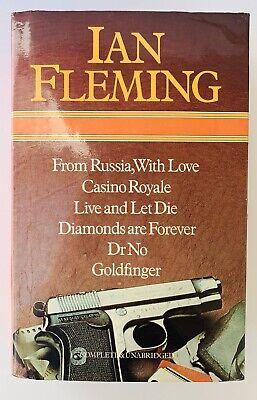 James Bond by Ian Fleming 6 in 1 Hardcover Octopus Heinemann Omnibus 1983
