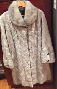 Authentic Mink Fur Coat