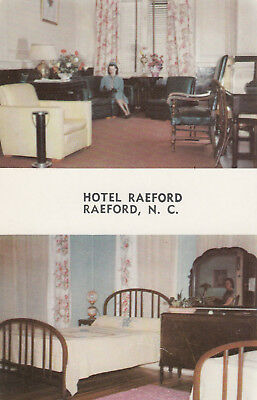Hotel Raeford, RAEFORD, North Carolina, 40-60s: 2-views
