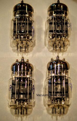 Factory Platinum Matched SOVTEK QUAD 4 NEW 6C33 6C33C NOS Tubes 24hr Burn-In