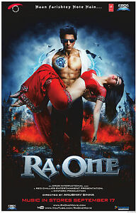 Ra.One DVD Hindi Bollywood Shah Rukh Khan Kareena Kapoor