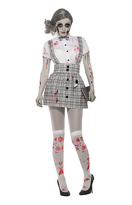 Zombie School Girl Costume (Zombie School Girl - Adult)