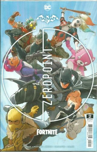 BATMAN FORTNITE ZERO POINT #2  DC COMICS 2021 / N/M / 1ST PRINT SEALED WITH CODE