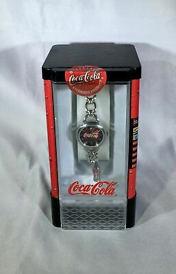 Ladies' Wonderful COCA-COLA Vintage Watch New In Box w/ Dangle Charm Beautiful!!
