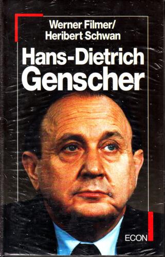 Hans-Dietrich Genscher von  Werner Filmer und Heribert Schwan - econ 1988