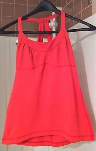 Lululemon Red Shirt Size 6