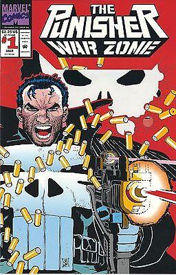 Punisher War Zone #1 Volume 1 1992 Marvel Comics VF
