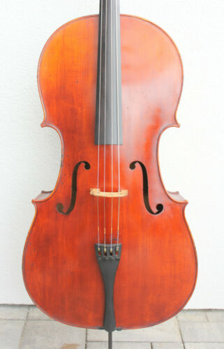 "Old used Cello ""Cremonese"" !!! Fine used cello ! ! ! Look ! !"