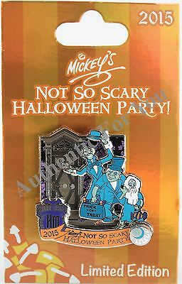 Disney Haunted Halloween Party (NEW Disney 2015 MNSSHP Halloween Party Haunted Mansion Hitchhiking Ghosts LE)