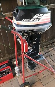 Tohatsu 25hp outboard parts only Tea Gardens Great Lakes Area Preview