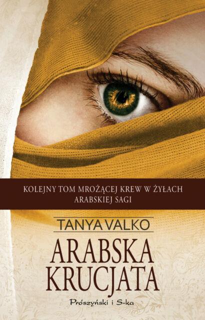Arabska krucjata, Tanya Valko, polish book