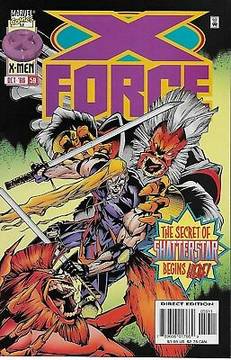 X-Force No.59 / 1996 Origin of Shatterstar / Jeph Loeb & Anthony Castrillo