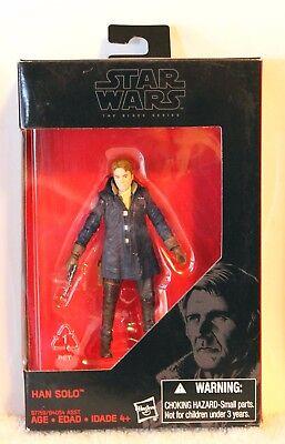 "Star Wars The Black Series 3.75"" Han Solo Walmart Exclusive B7759 Hasbro 4+ NEW"