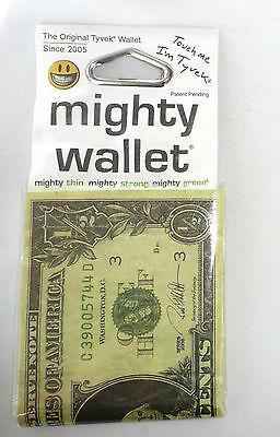 Dynomighty RON ENGLISH HALF DOLLAR Tyvek DY-585 Super Thin Mighty Wallet >NEW<