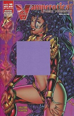 """VAMPEROTICA COMIC #16 RED REIGN """"NUDE"""" EDITION JUNE 96 1ST P THE CASTLE OF DOLLS"""