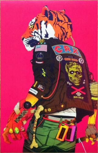 CRX New Skin 2017 Ltd Ed RARE Litho Poster +FREE Rock Alt Punk Poster! STROKES
