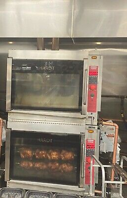 Hardt Inferno Gc 4000 Chicken Rotisserie Double Stack Oven Natural Gas 2 Ovens