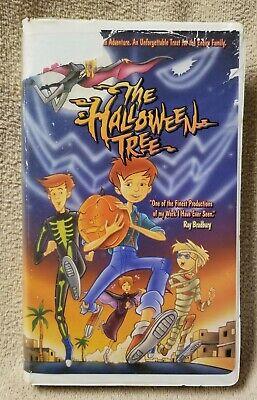 THE HALLOWEEN TREE Vhs Video Tape 1993 Animated Movie Hanna-Barbera RAY BRADBURY