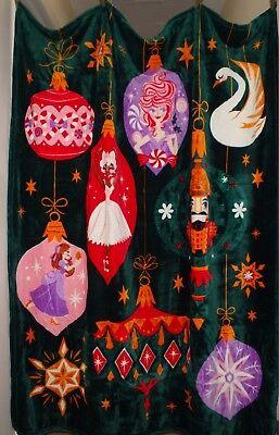 Nutcracker Blanket - Nutcracker And The Four Realms CLARA,BALLERINA,SUGAR PLUM FAIRY Throw Blanket