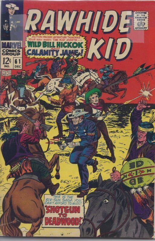 Rawhide Kid #61 in VF- from Marvel