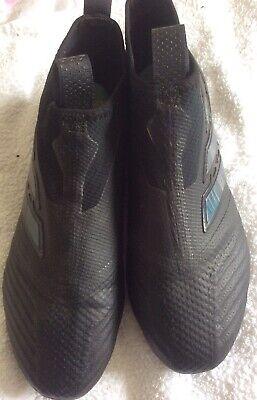 Adidas Ace 17+ Purecontrol FG - Blackout - Size UK 9.