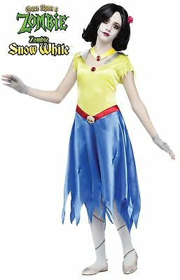 Once Upon a Zombie Snow White Child Costume Large 12-14 - A Zombie Costume